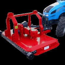 Садовая косилка с возможностью агрегатировать сзади или спереди трактора