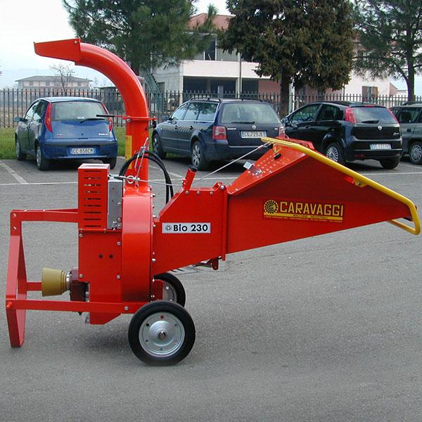 Измельчитель веток CARAVAGGI BIO 230