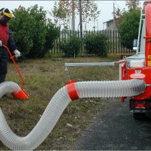 Коммунальный вакуумный пылесос для уборки листвы