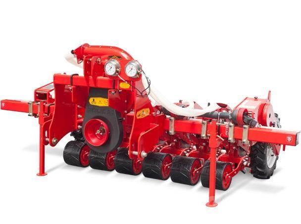 Сеялка овощная точного высева для трактора 2-12 рядная.