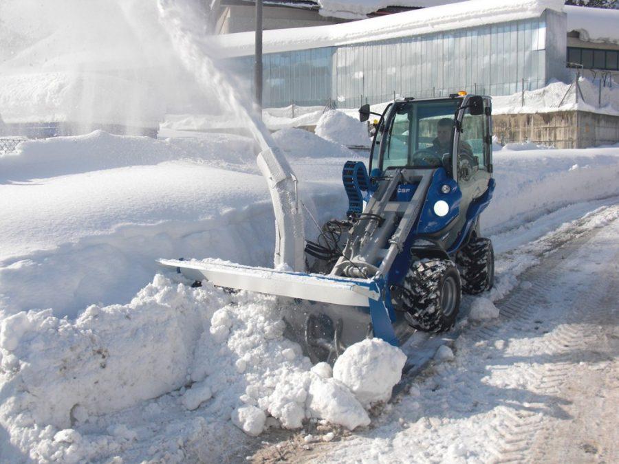 Снегоуборочная насадка