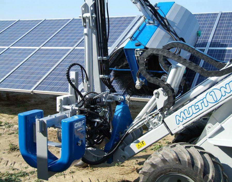 Очистительная система для солнечных батарей