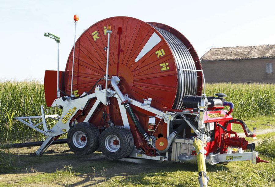 Дождевальная машина барабанного типа RM Giant XJM