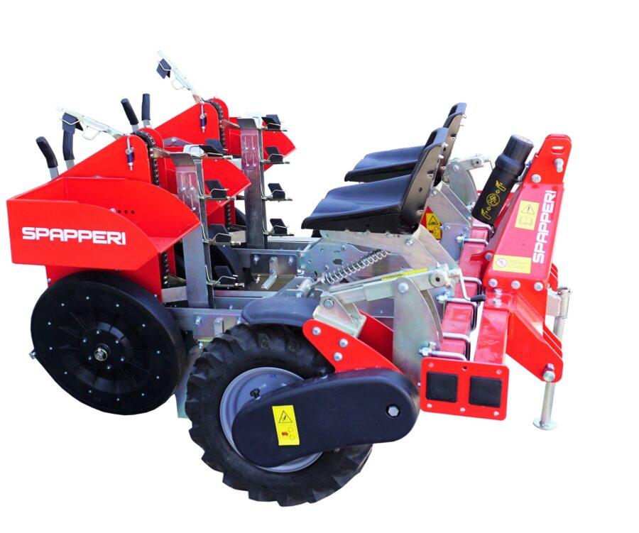Универсальная рассадопосадачная машина TU SPAPPERI для саженцев с голыми корнями